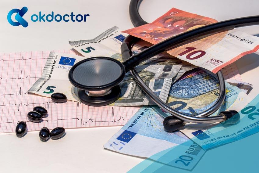 Porcentajes de actos médicos
